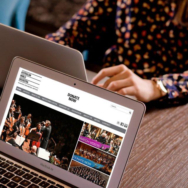 Australian World Orchestra – Corporate Website
